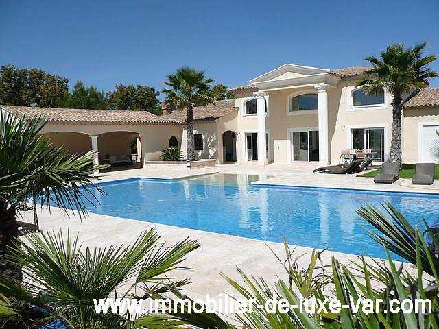 Immobilier prestige 83 for Achat villa de prestige